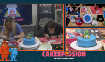 Cakexplosion #6 – Yoshi-Cake die 2.!